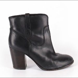 FRYE • Black Ankle Boots